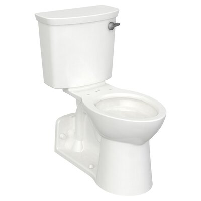 American Standard HET 1.28 GPF (Water Efficient) Elongated Wall-Mount Toilets (Seat Not Included) Lever Location: Right-Hand