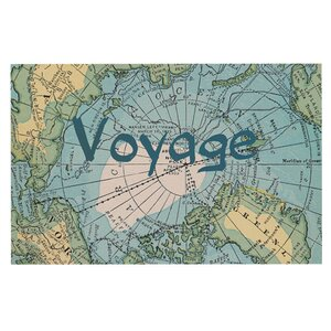 Catherine Holcombe 'Voyage' Map Decorative Doormat