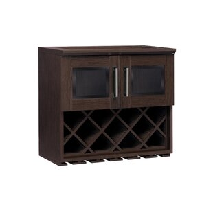 Home Bar Wall Rack Cabinet by NewAge Products