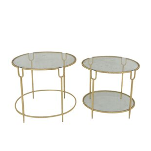 Penzance Round 2 Piece Nesting Tables