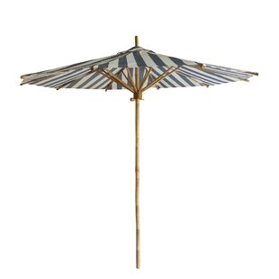 Longshore Tides Kinslee Bamboo 7' Beach Umbrella