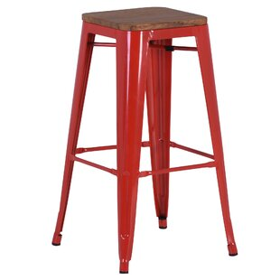 Clintonville 74cm Bar Stool (Set Of 4) By Borough Wharf