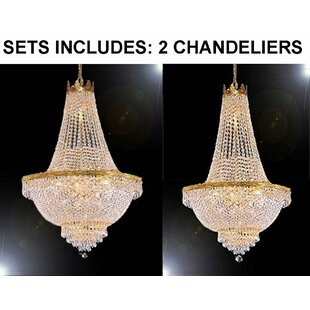 Rosdorf Park Horowitz 9-Light Chandelier (Set of 2)