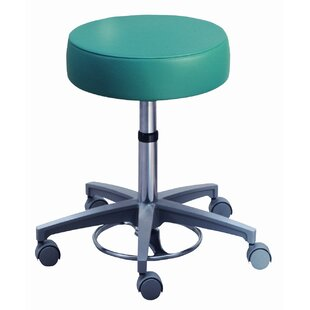 Millennium Series Surgeon's Round Seat Stool with Locking Casters by Brewer