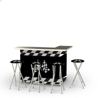 Patio 8 Piece Bar Set by Best of Times 2020 Sale