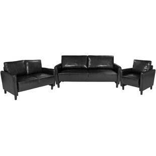 Reviews Stellert Upholstered 3 Piece Living Room Set by Ebern Designs Reviews (2019) & Buyer's Guide