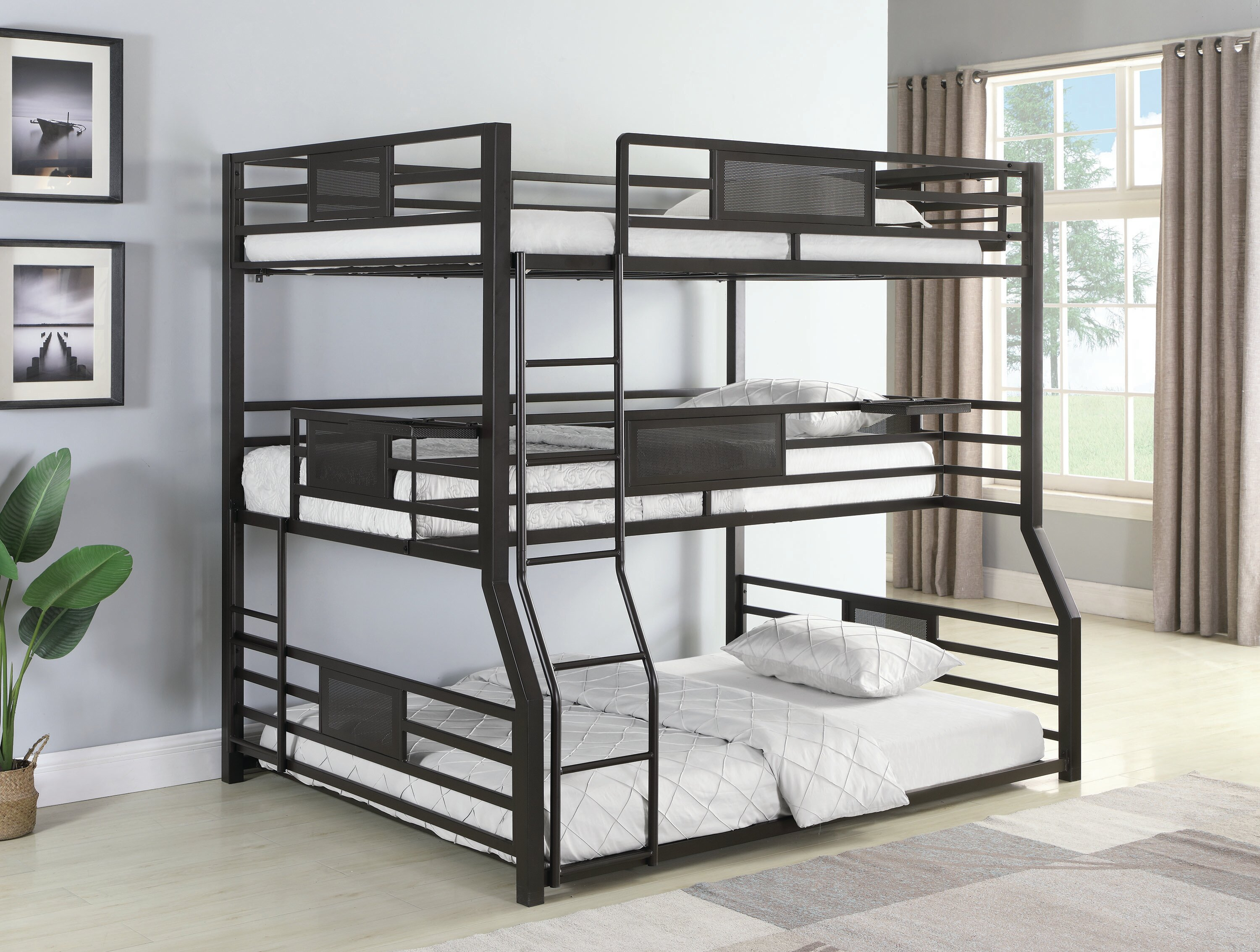 Image result for bunk beds full and twin
