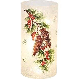 The Holiday Aisle Pinecone LED Lamp