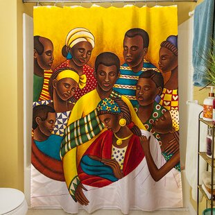 Family Photo Single Shower Curtain