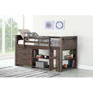 Ivanna Twin Loft Bed with Drawers