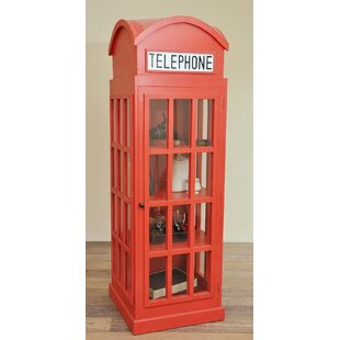 Malvina Cottage English Phone Booth Accent Cabinet by Red Barrel Studio