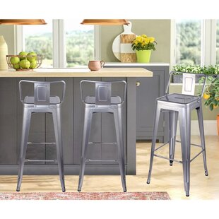 Check Prices Jayson 30 Bar Stool (Set of 4) by 17 Stories Reviews (2019) & Buyer's Guide