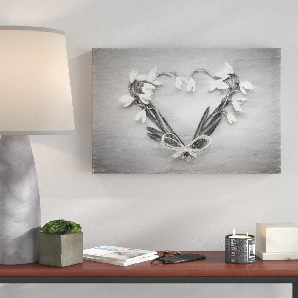 Grey Canvas Wall Art You Ll Love Wayfair Co Uk
