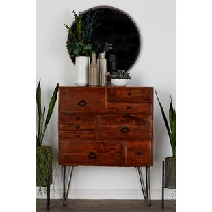 Como 9 Drawer Double Dresser by George Oliver