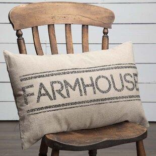 Surikova Farmhouse 100% Cotton Pillow