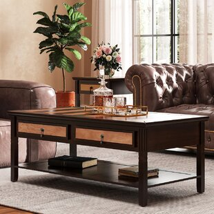 Pilger 2-Tier Coffee Table with Storage