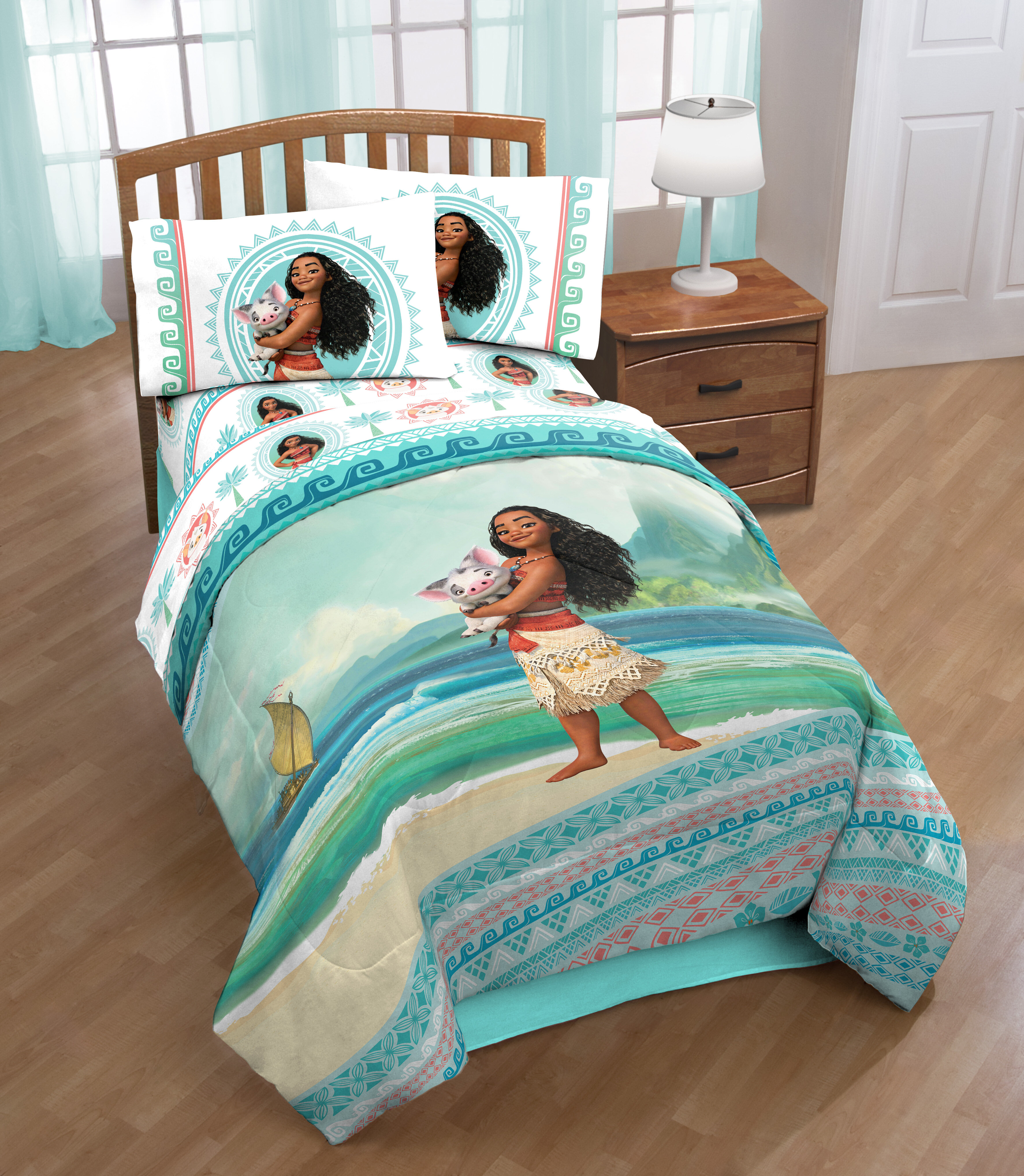 Single//US Twin Bed Quilt Doona Duvet Cover Set Coral Dory Finding Nemo