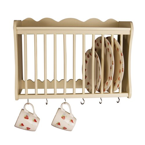 sc 1 st  Wayfair & Wooden Wall Plate Racks | Wayfair.co.uk