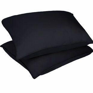 Microfiber Stain and Water Resistant Bed Polyfill Pillow (Set of 2)