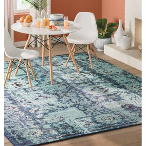 Yannis Blue Area Rug