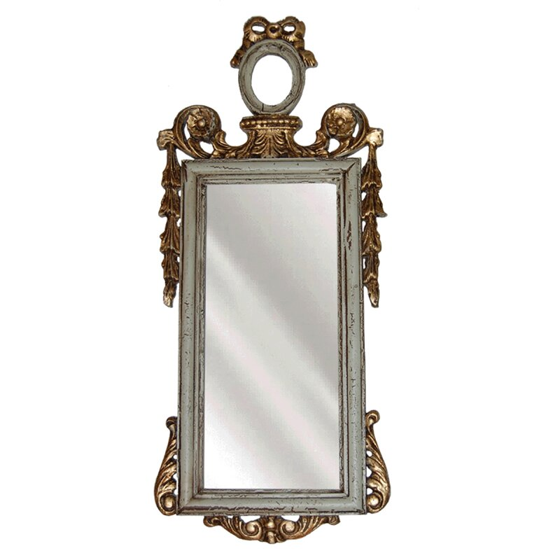 Ornate French Accent Mirror