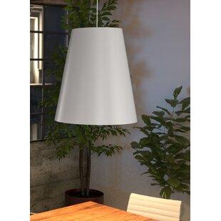 Brayden Studio Hibiscus 1-Light Cone Pend..