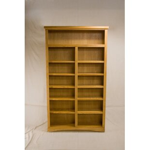 Cutright 2 Shelf Traditional Standard Bookcase