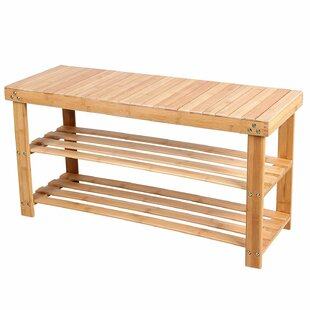 Ashlee Wood Storage Bench By House Of Hampton