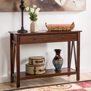 Wilda Drawer Console Table by Andover Mills