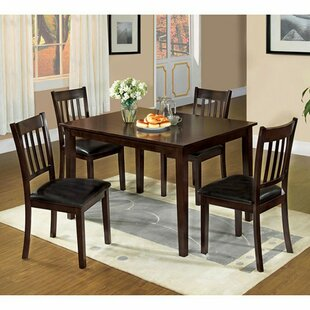 Lawhon Transitional 5 Piece Dining Set Winston Porter
