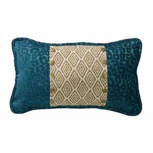 Idella Ikat and Leopard Lumbar Pillow
