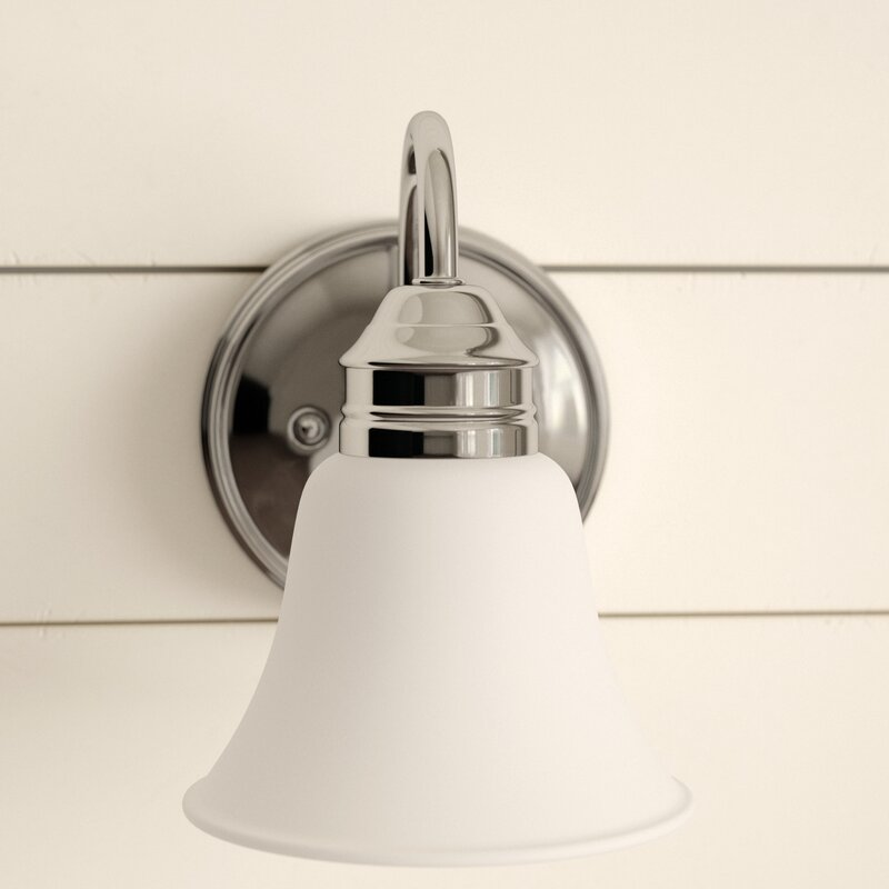 Andover Mills Abeer 1 Light Dimmable Bath Sconce Reviews Wayfair