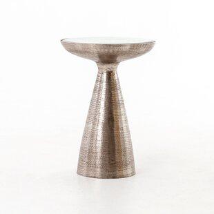 Bevis Pedestal End Table b..