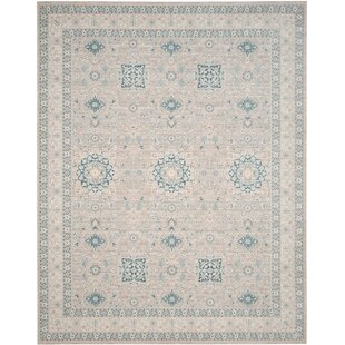 Bertille Gray/Blue Area Rug by Lark Manor