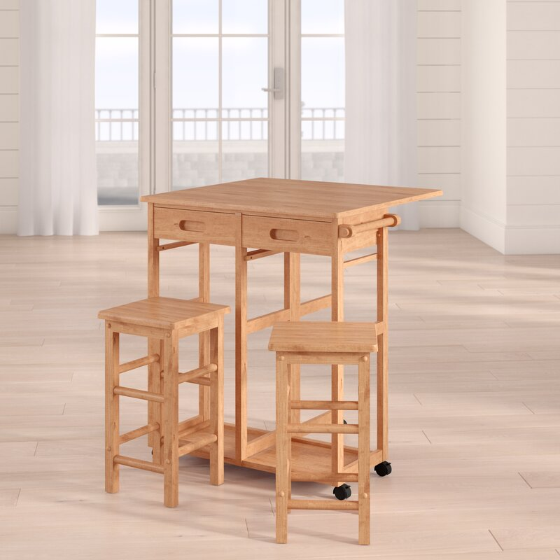 Wynyard 3 Piece Pub Table Set