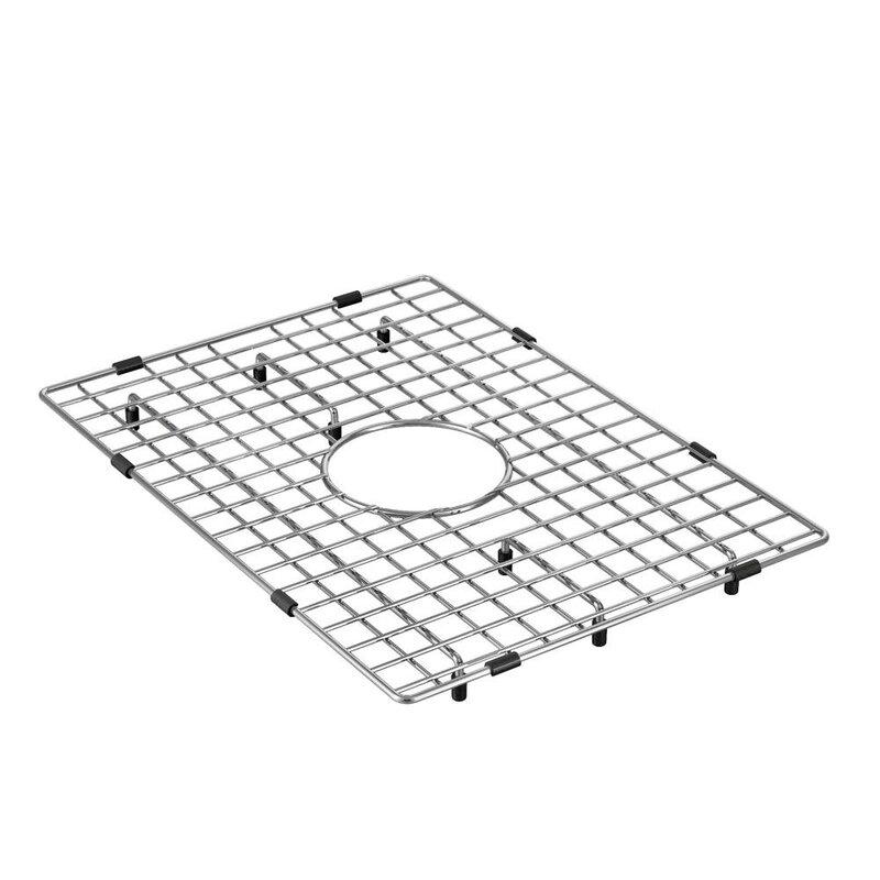 Ga763 Moen 13 X 18 Stainless Steel Bottom Sink Grid Wayfair