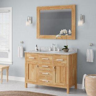 48 vanity mirror 60 inch middletown 48 48 inch vanity mirror wayfair