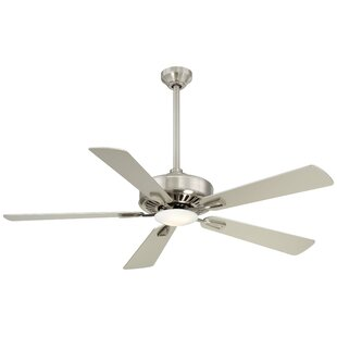 Contractor Bowl 5 Blade Ceiling Fan Light Kit Included with Remote