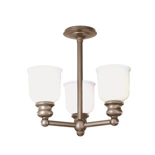 Cave 3-Light Semi-Flush Mount by Charlton Home