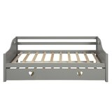 Drewry Twin Daybed with Trundle by Rosdorf Park