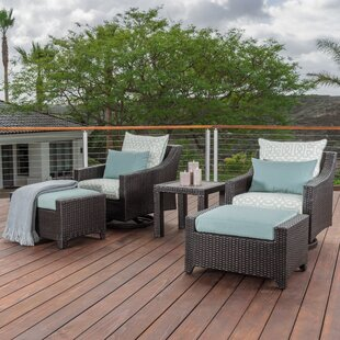 Northridge 5 Piece Sunbrella Conversation Set with Cushions