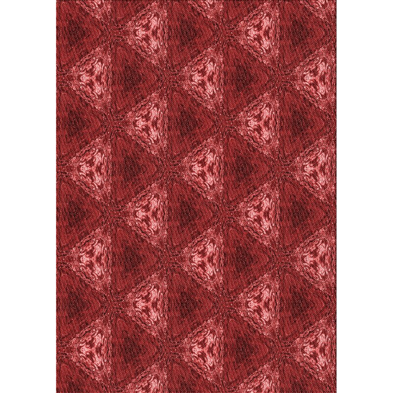 Ebern Designs Corrie Red Light Pink Rug Wayfair
