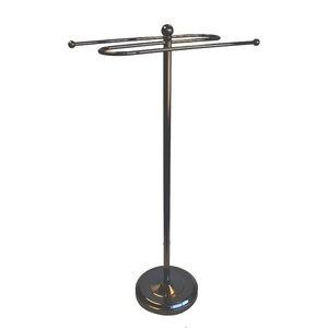 Small Valet Free Standing Towel Stand Style Study- Victorian