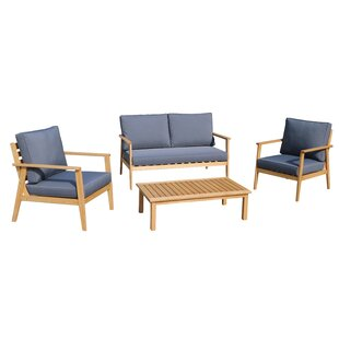 Wall 5 Piece Sofa Seating Group by Rosecliff Heights