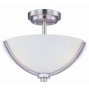 Bennet 3-Light Semi Flush Mount by Red Barrel Studio