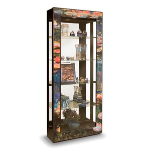 ArtWorks Lighted Curio Cabinet by Philip Reinisch Co.