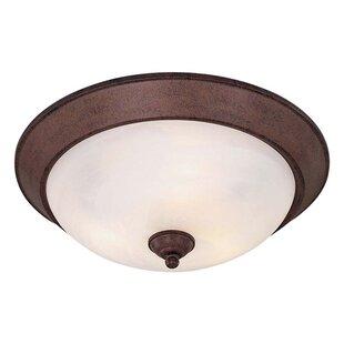 Minka Lavery 3-Light Flush Mou..
