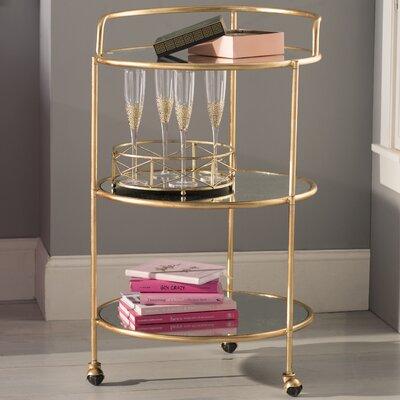 Willa arlo interiors barnaby bar cart color gold - Willa arlo interiors keeley bar cart ...
