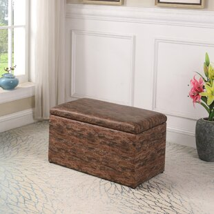 Avalon Pattern Storage Ottoman..