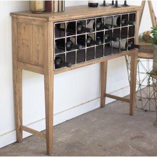 Gracie Oaks Ottilie Bar with Wine Storage